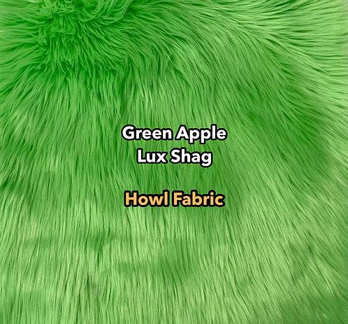 Green Apple Luxury Shag Faux Fur