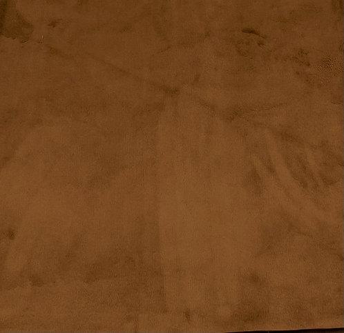Caramel Minky Cuddle Solid Fabric