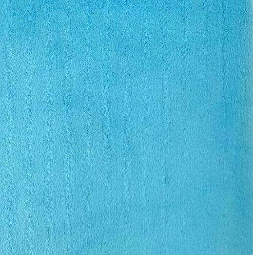 Aquamarine Minky Cuddle Solid Fabric