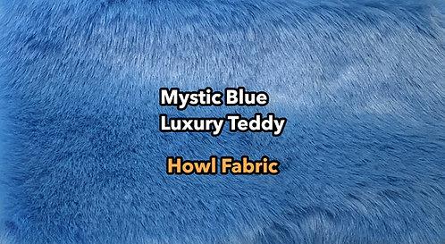 Mystic Blue Luxury Teddy Faux Fur