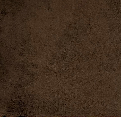 Brown Minky Cuddle Solid Fabric
