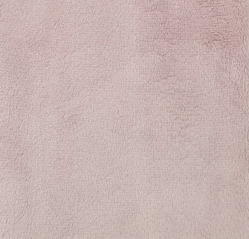 Rosewater Minky Cuddle Solid Fabric