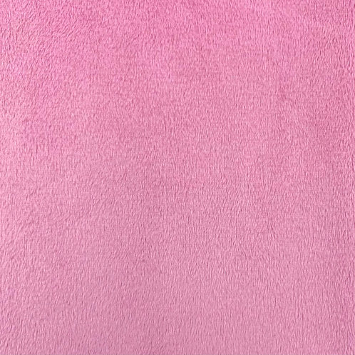 Bubble Gum (HF) Minky Cuddle Solid Fabric