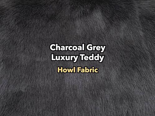 Charcoal Grey Luxury Teddy SWATCH