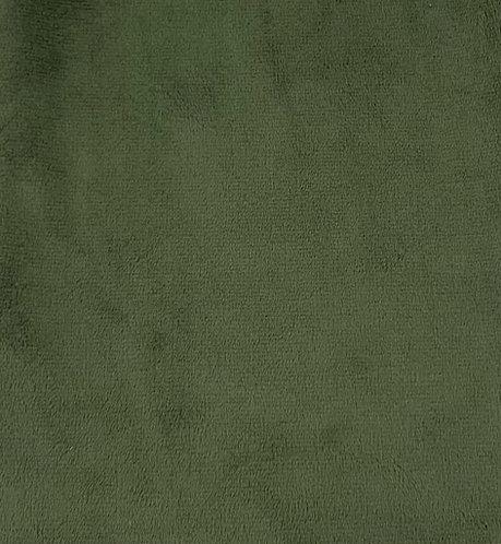 Hunter Minky Cuddle Solid Fabric