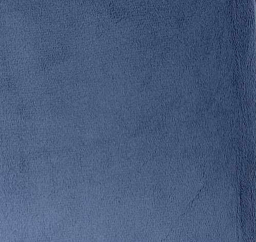 Jeans Minky Cuddle Solid Fabric