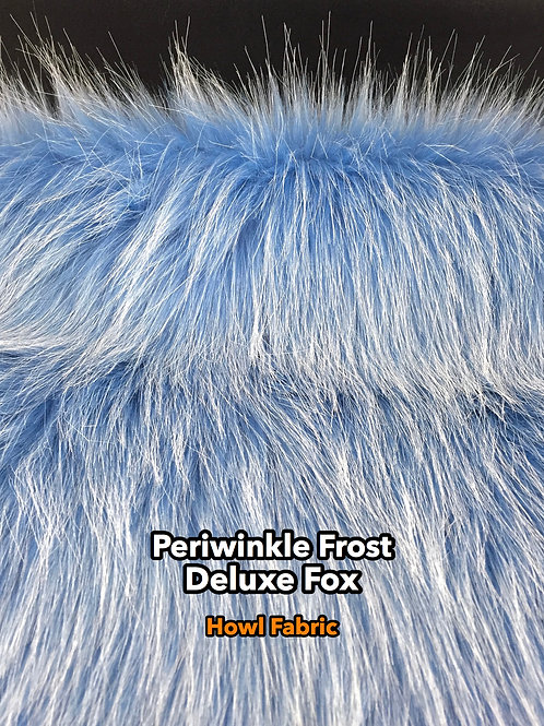 Periwinkle Faux Fur Fabric