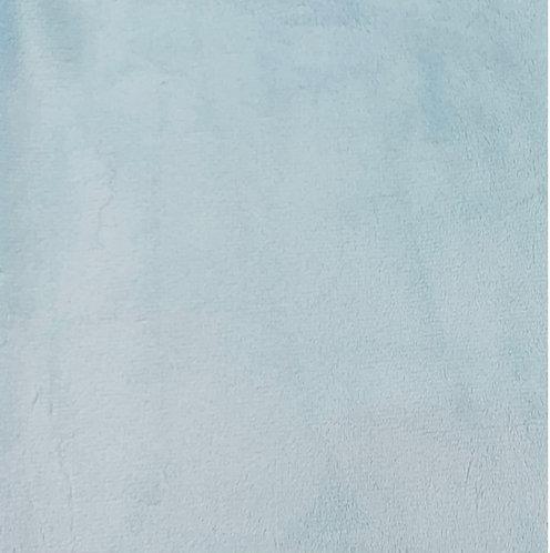 Aqua Minky Cuddle Solid Fabric