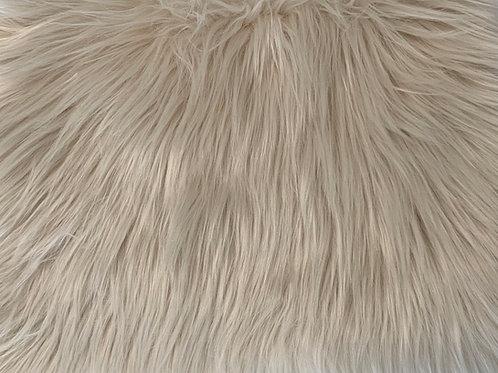 Latte Luxury Shag Faux Fur