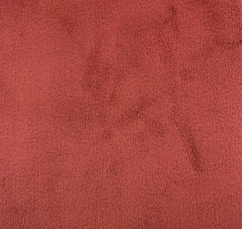 Coral Ember (HF) Minky Cuddle Solid Fabric