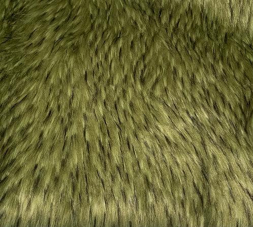 Jade Wolf Faux Fur