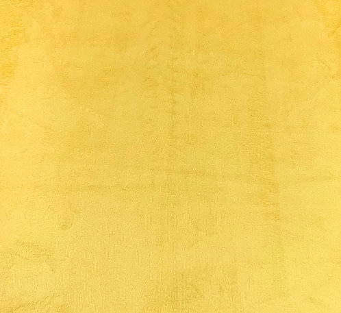 Lemon Minky Cuddle Solid Fabric