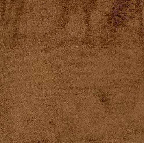 Mocha Minky Cuddle Solid Fabric