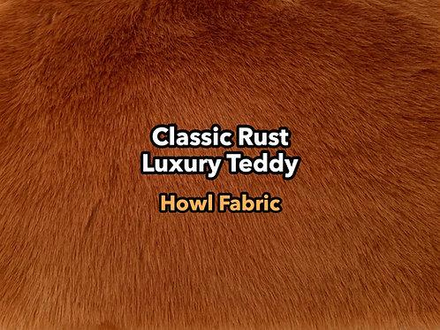 Classic Rust Luxury Teddy SWATCH