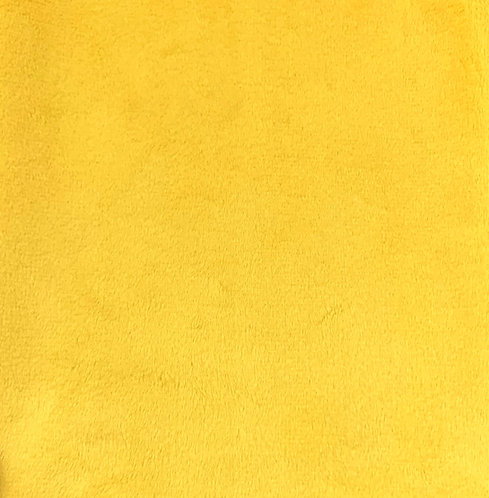 Canary Minky Cuddle Solid Fabric
