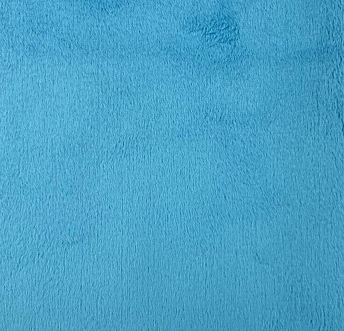 Dark Turquoise Minky Cuddle Solid Fabric