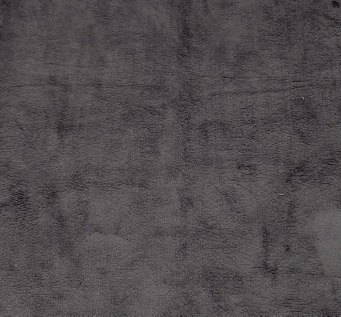 Charcoal Minky Cuddle Solid Fabric