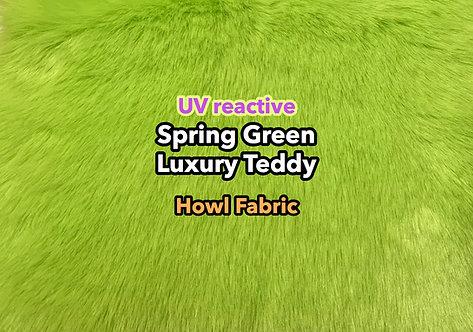 UV Spring Green Luxury Teddy Faux Fur