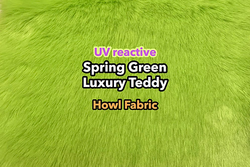 UV Spring Green Luxury Teddy Faux Fur