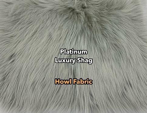 Platinum Luxury Shag Faux Fur SWATCH