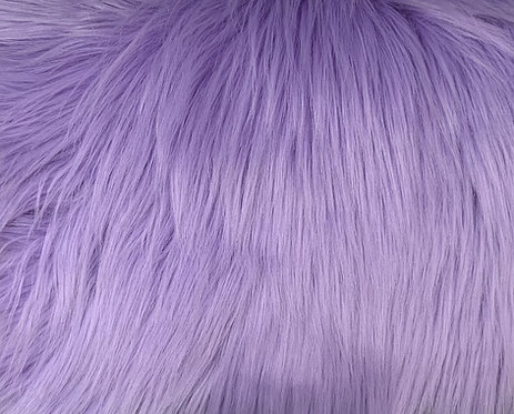 Lavender Luxury Shag Faux Fur