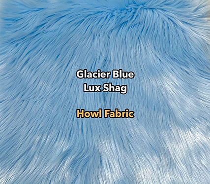 Glacier Blue Luxury Shag Faux Fur