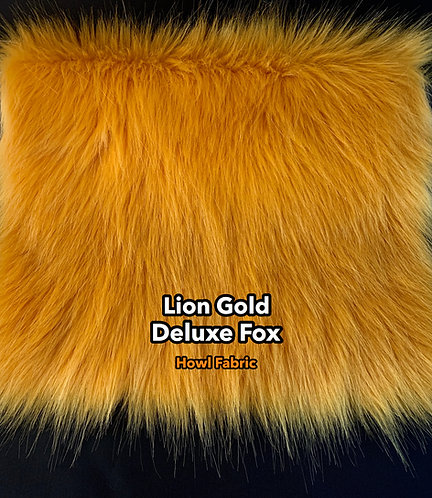 Gold Faux Fur Fabric