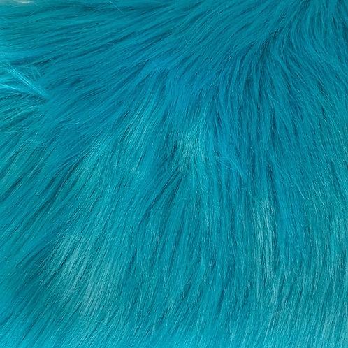 Turquoise Luxury Shag SWATCH