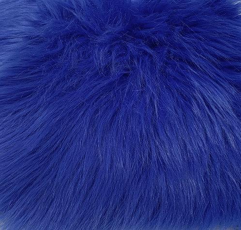 Royal Blue Luxury Shag Faux Fur