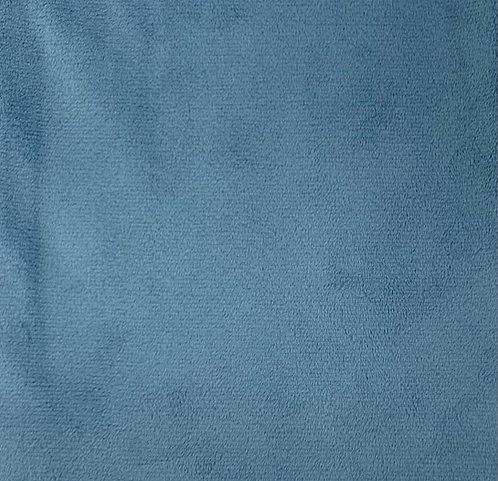 French Blue Minky Cuddle Solid Fabric