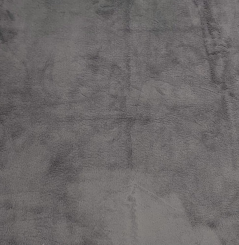 Graphite Minky Cuddle Solid Fabric