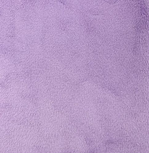 Lilac Minky Cuddle Solid Fabric