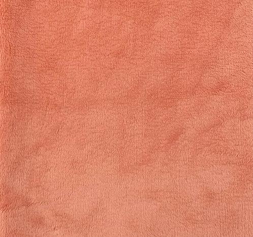Papaya Minky Cuddle Solid Fabric