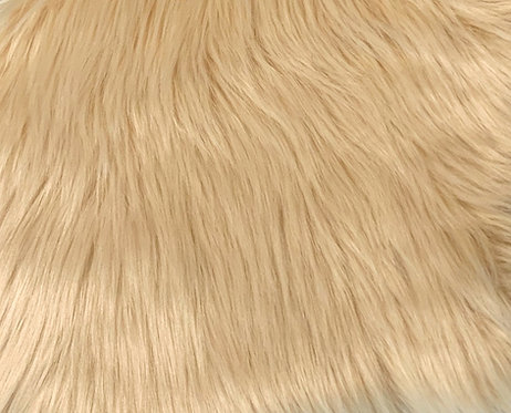 Honey Luxury Shag Faux Fur