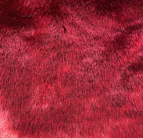 Crimson Jewel Teddy Faux Fur SWATCH