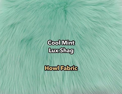Cool Mint Luxury Shag Faux Fur PREORDER