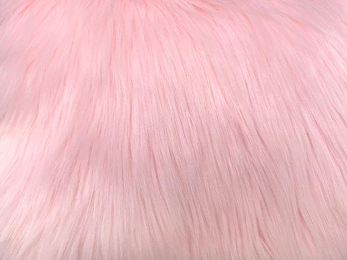 Baby Pink Luxury Shag SWATCH