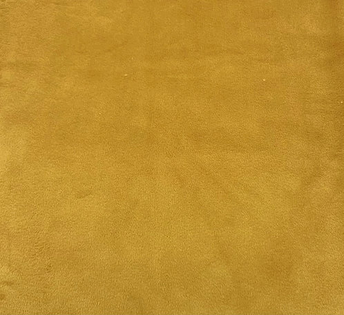 Gold Minky Cuddle Solid Fabric