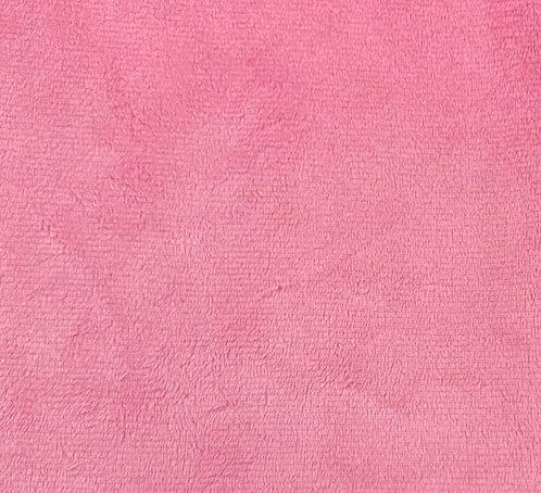 UV Paris Pink Minky Cuddle Solid Fabric