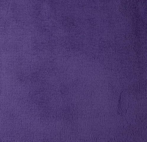 Amethyst Minky Cuddle Solid Fabric