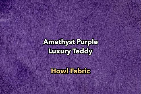 Amethyst Purple Luxury Teddy Faux Fur