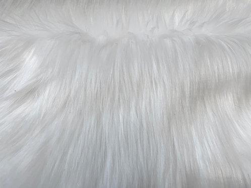 Snow White Luxury Shag Faux Fur