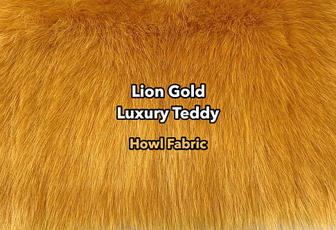 Lion Gold Luxury Teddy Faux Fur