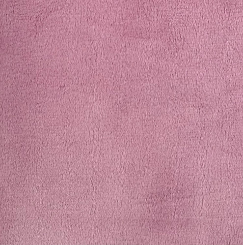 Dusty Rose Minky Cuddle Solid Fabric