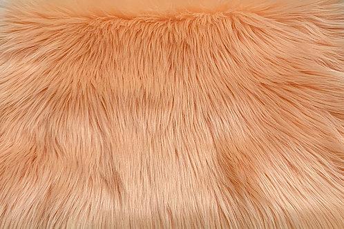 Orange Sherbert Luxury Shag Faux Fur