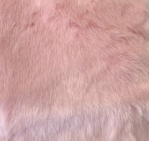 Baby Pink Luxury Teddy Faux Fur
