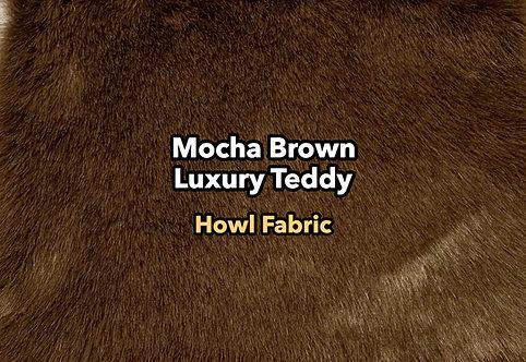 Mocha Brown Luxury Teddy Faux Fur