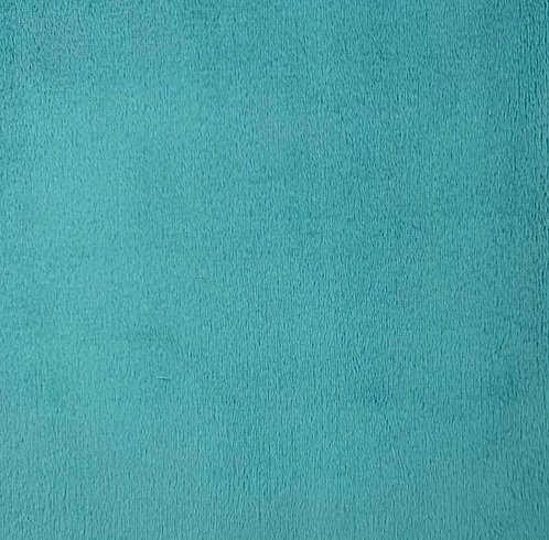Teal Minky Cuddle Solid Fabric