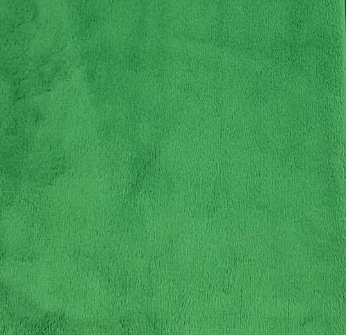 Kelly Green Minky Cuddle Solid Fabric