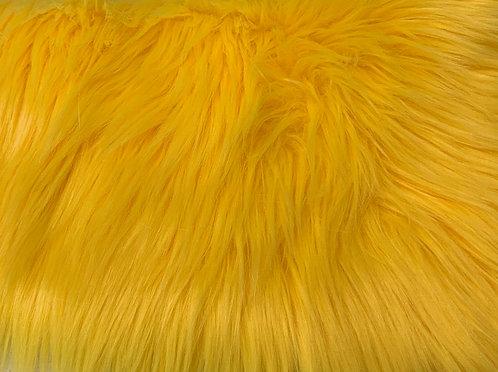 Yellow Luxury Shag SWATCH